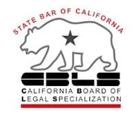 California Board of Legal Specializations badge